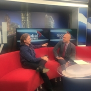 Bruce Fikowski talks about data collection at Global News Calgary