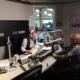 Bruce On Radio Set in Edmonton