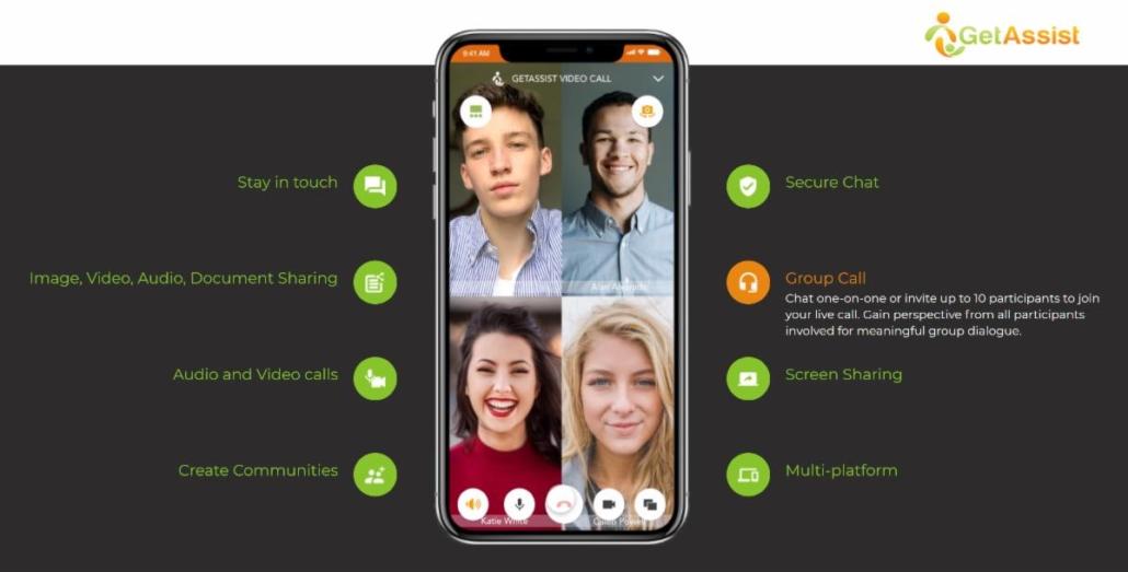GetAssist Beta Video Chat Screenshot