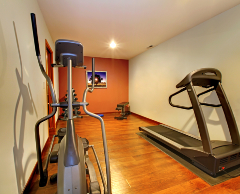 2020 home trend finished basement for space to exercise