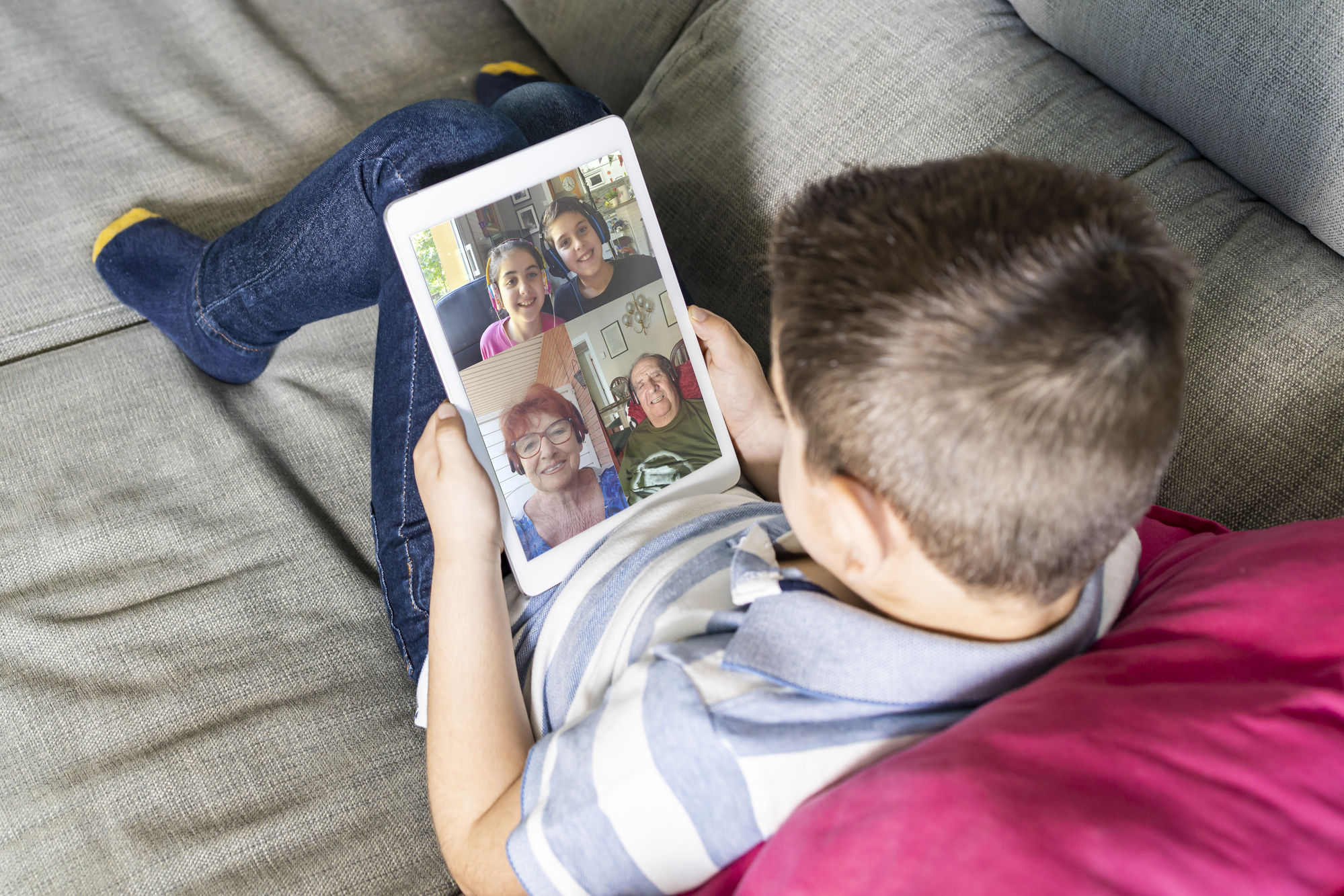 family video chat on GetAssist
