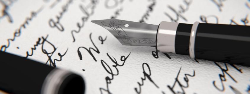 handwritten letter for marketing