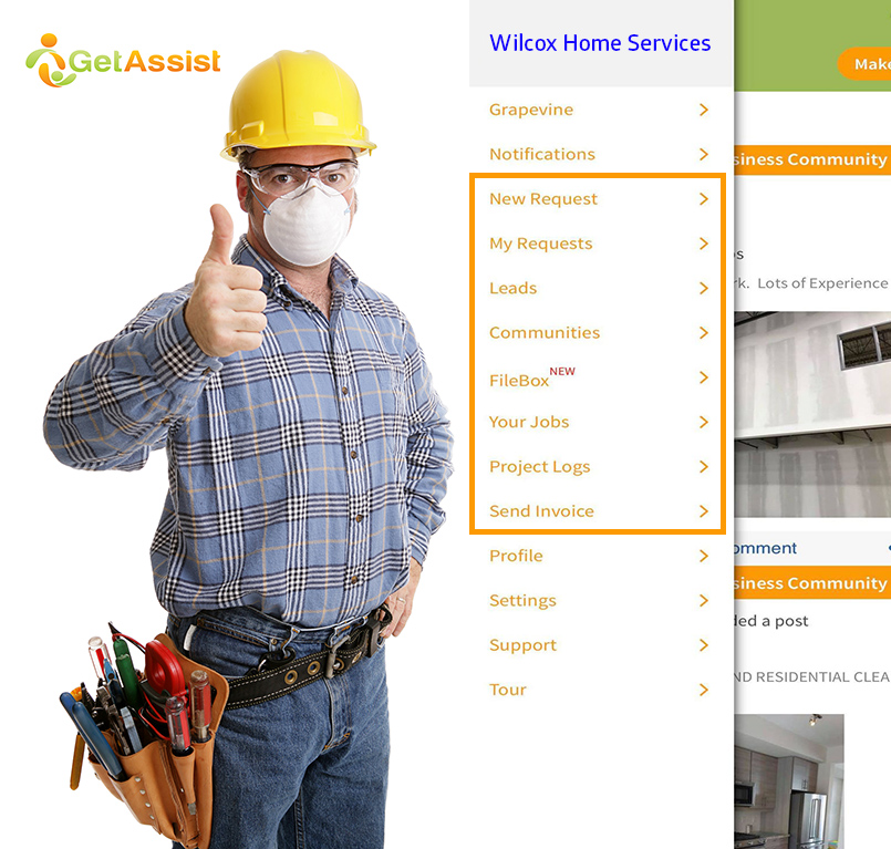 touchless business tools for home service business
