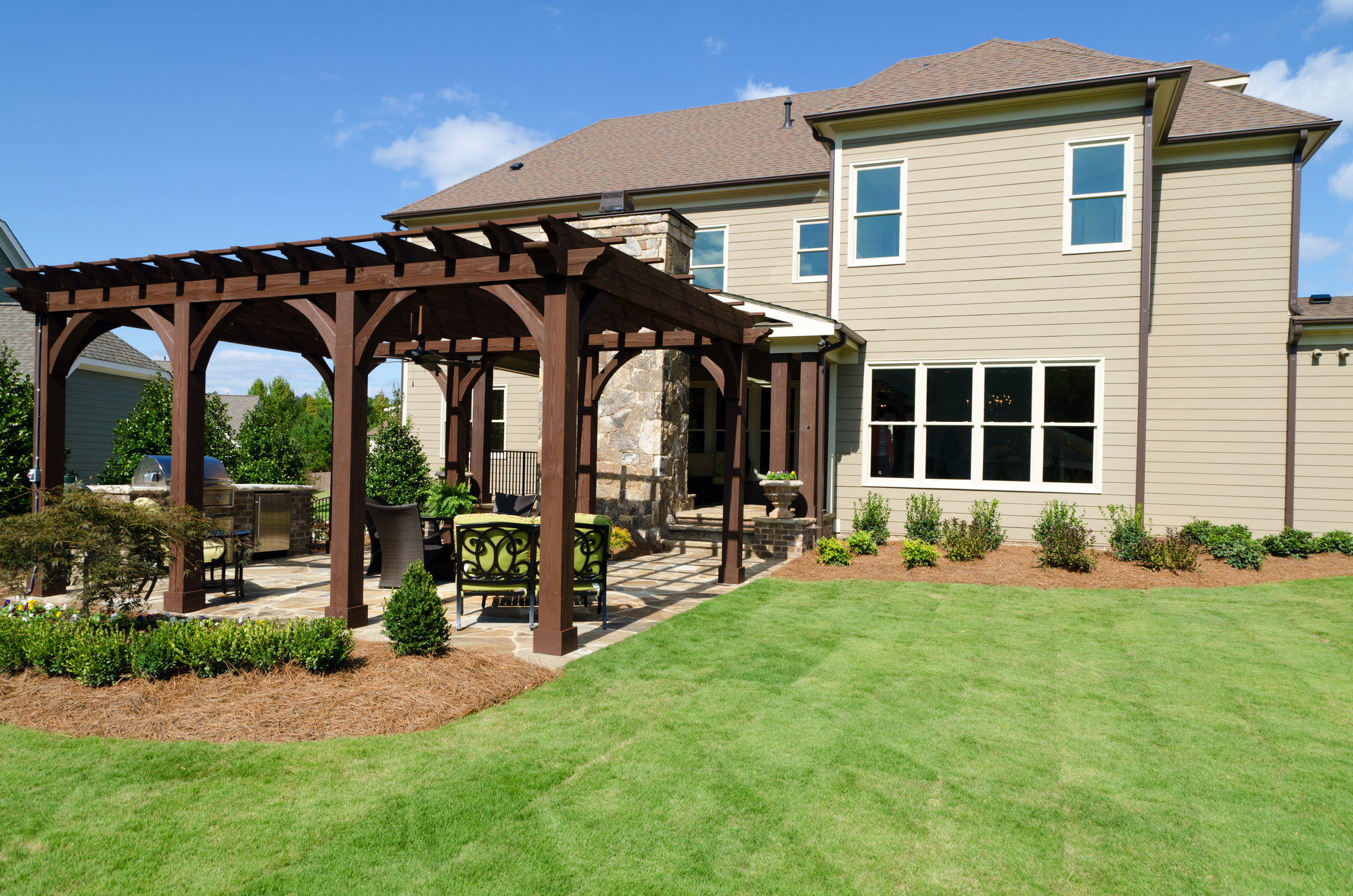 pergola for shade to work