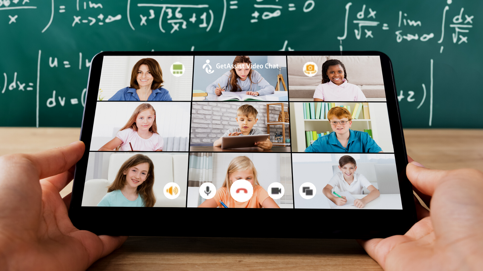 GetAssist Video Chat for the classroom
